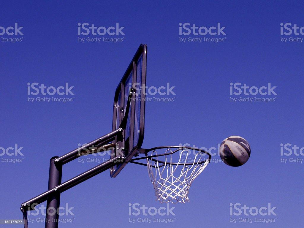 Goal (Basket Ball) royalty-free stock photo