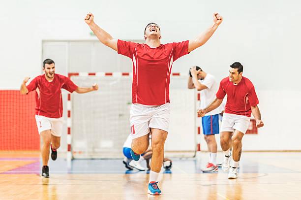 goal! - handboll bildbanksfoton och bilder