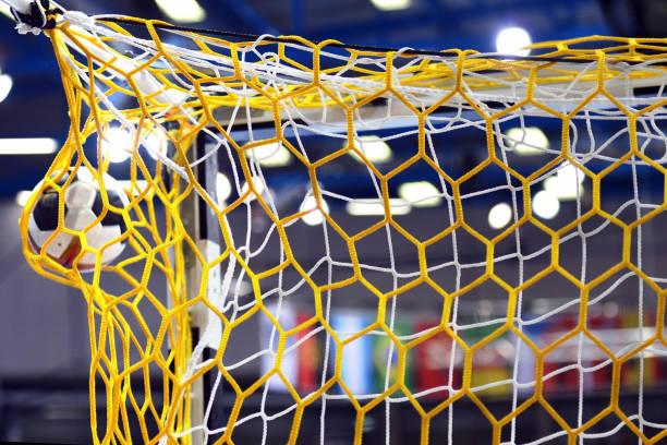 mål!! - handboll bildbanksfoton och bilder