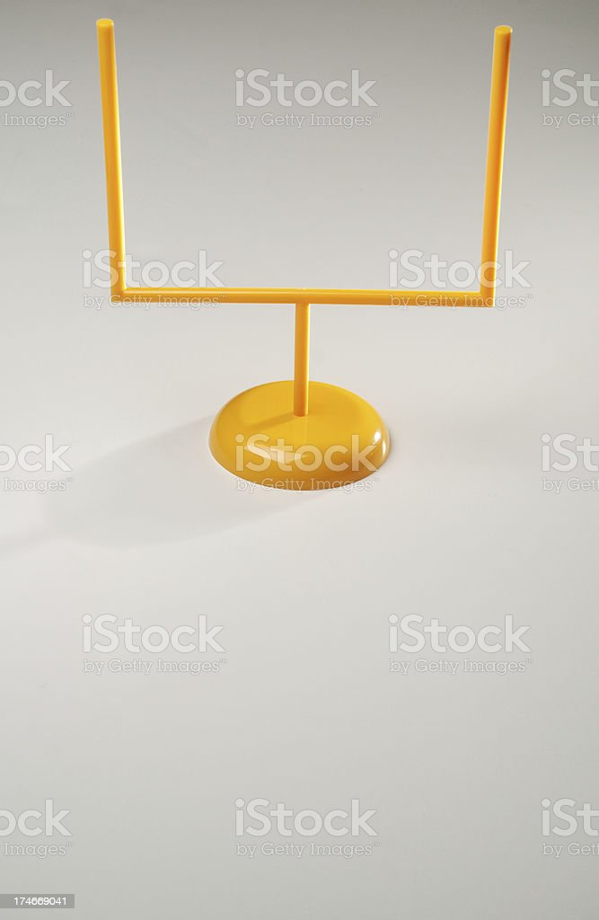 Goal post royalty-free stock photo