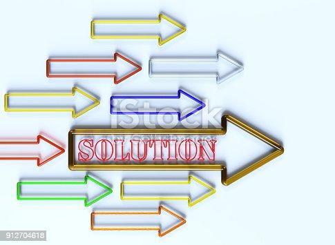 615499454istockphoto Goal Solution Concept 912704618