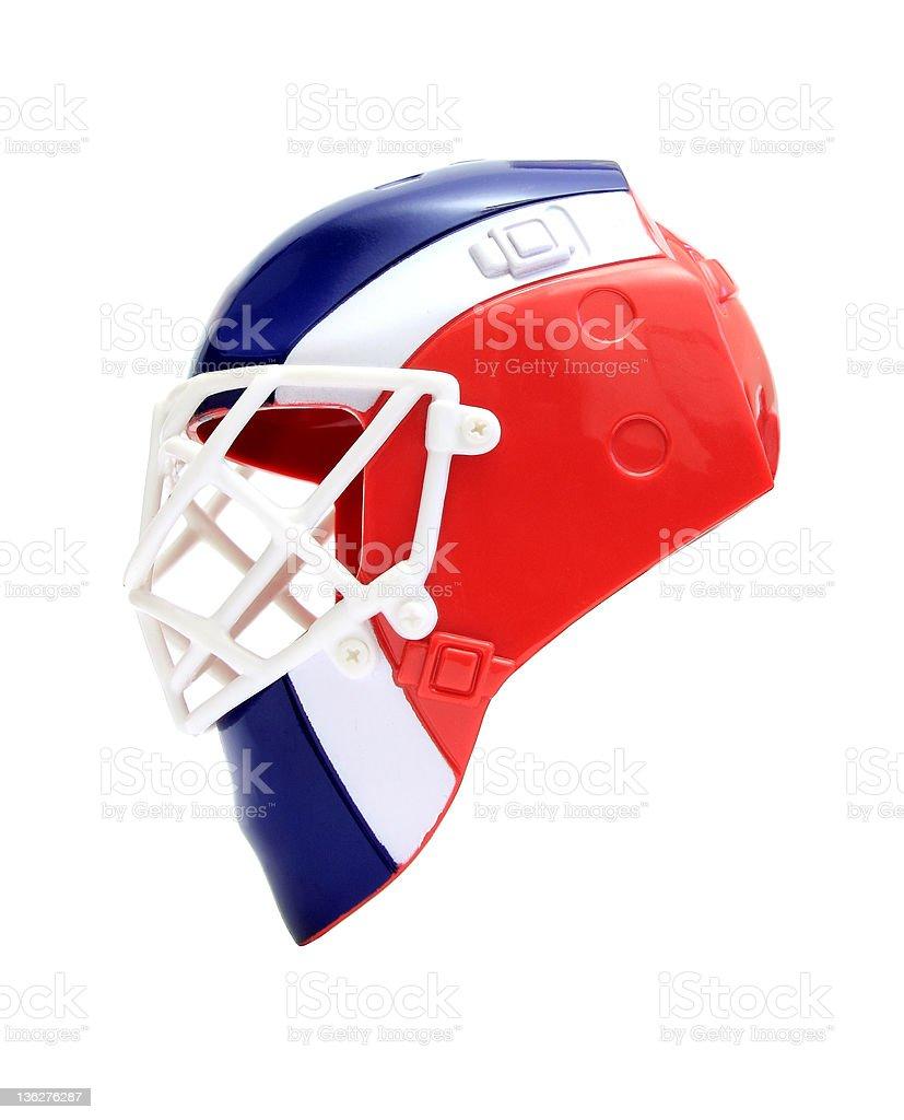 goalie mask royalty-free stock photo