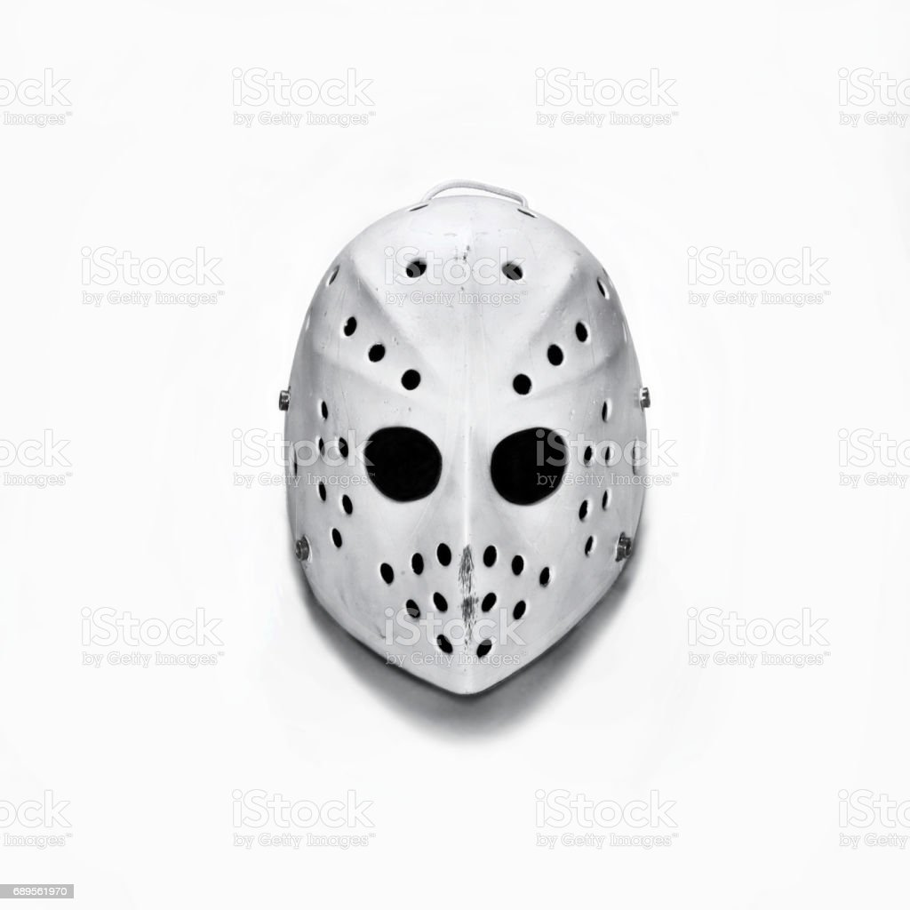 Goalie Mask stock photo