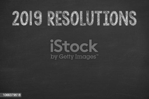 1069595584 istock photo Goals 2019 on Chalkboard 1066379518