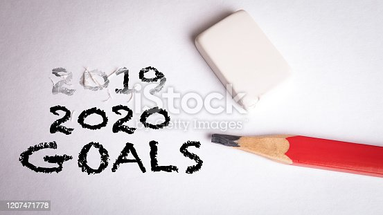 1186985932 istock photo 2020 Goals. Business, plans, success and opportunities 1207471778
