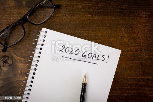 istock 2020 Goals 1192513066