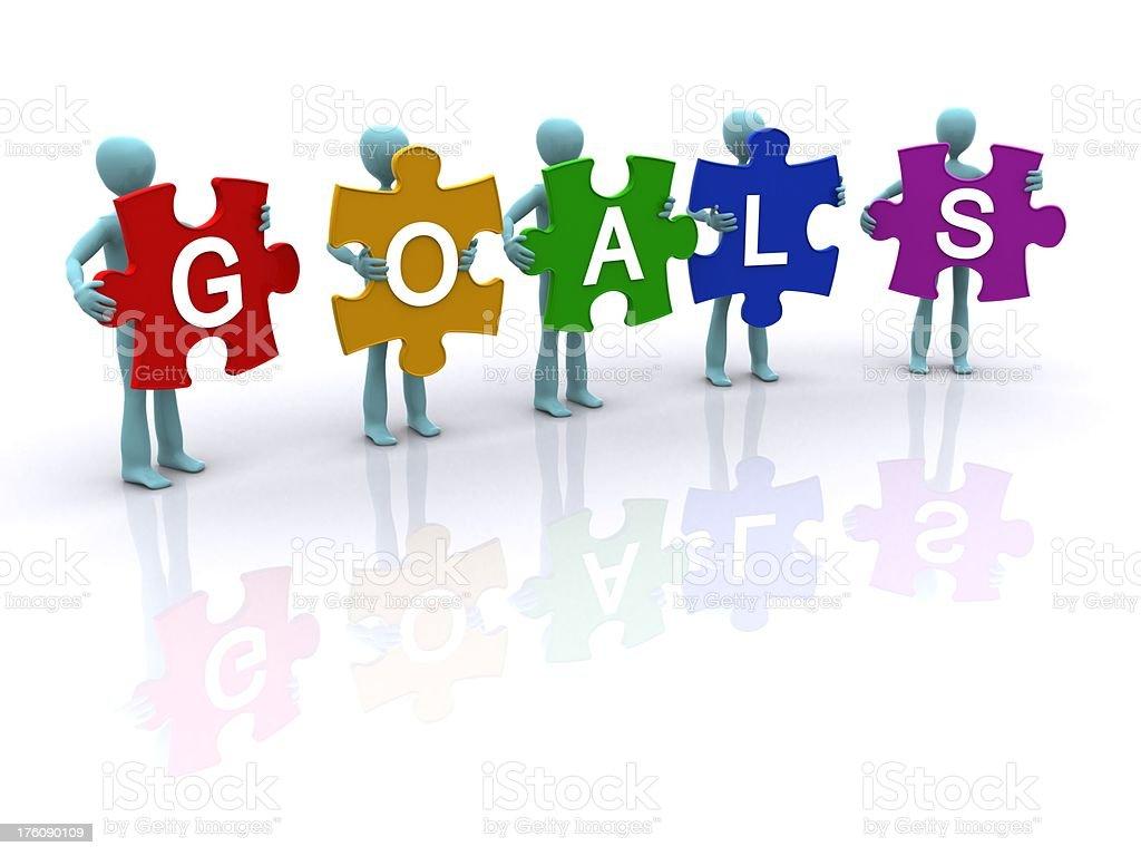 goals royalty-free stock photo