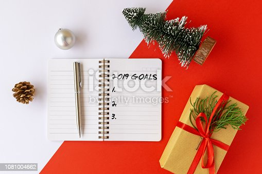 1076095678 istock photo 2019 goals text on note pad 1081004662