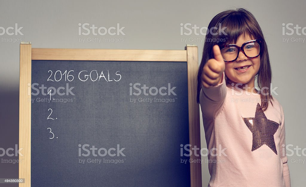 2016 goals will be ok stock photo