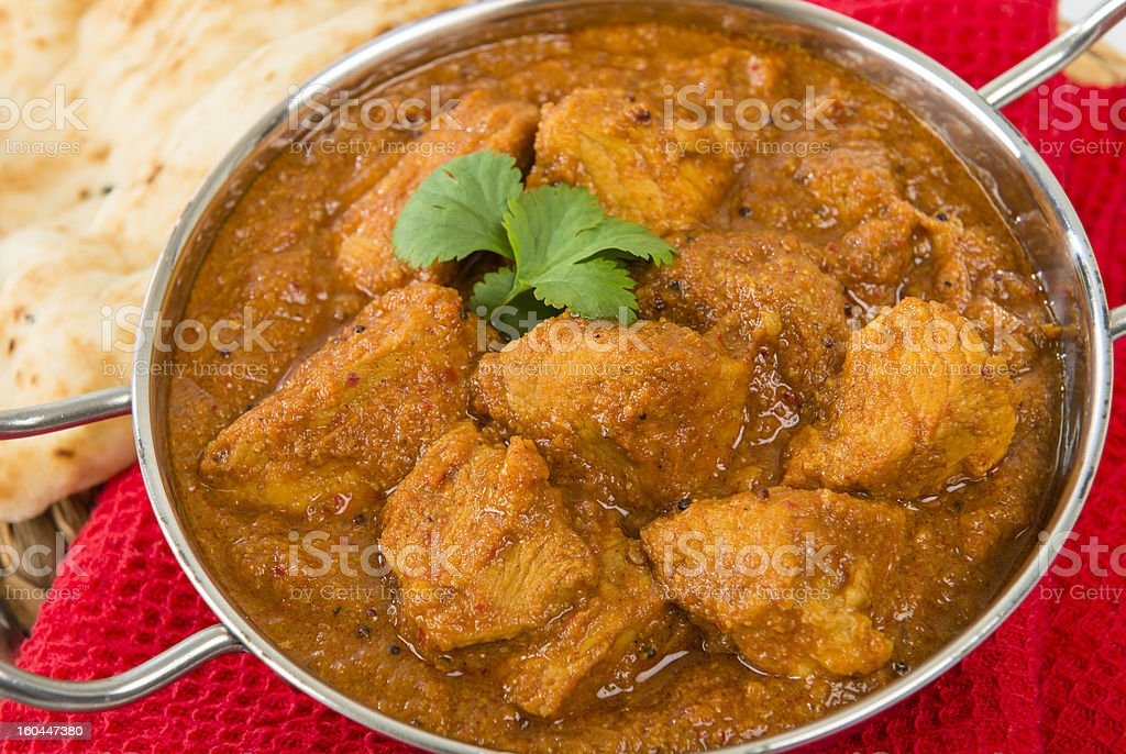 Goan Pork Vindaloo stock photo