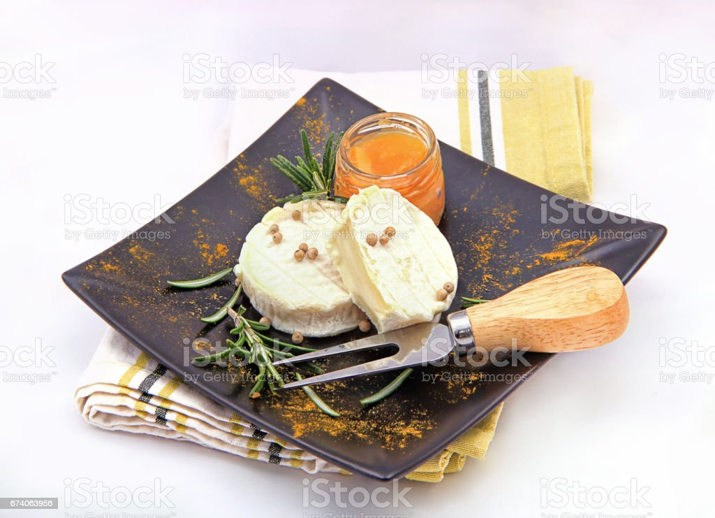 goat chees royalty-free stock photo