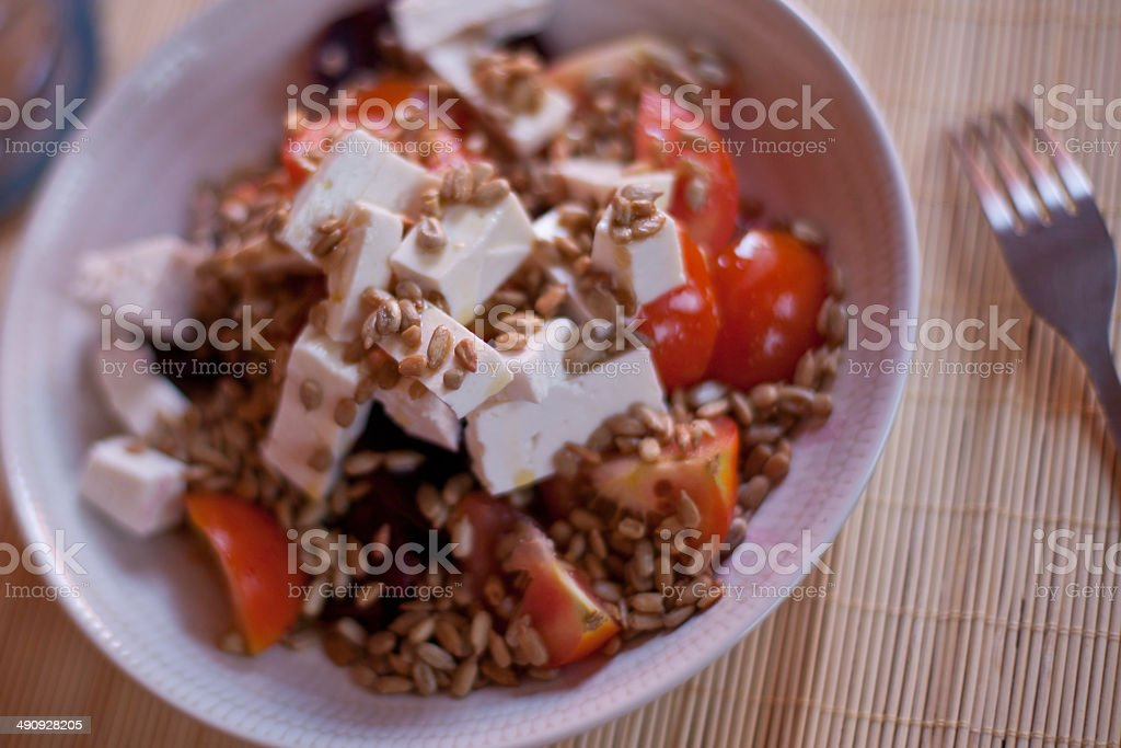 Goat Cheese Salad royalty-free stock photo