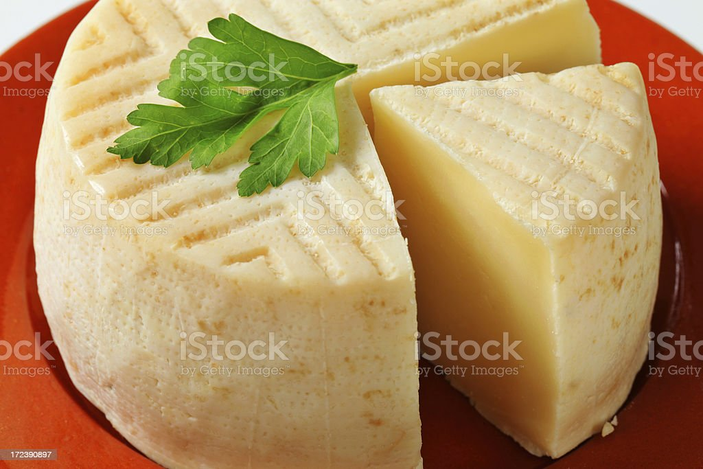 goat milk cheese royalty-free stock photo