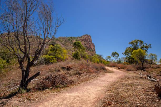 Goat Track - Castle Hill stock photo
