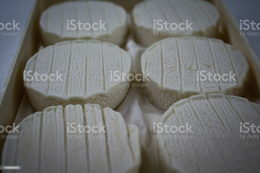 Goats Cheese stock photo