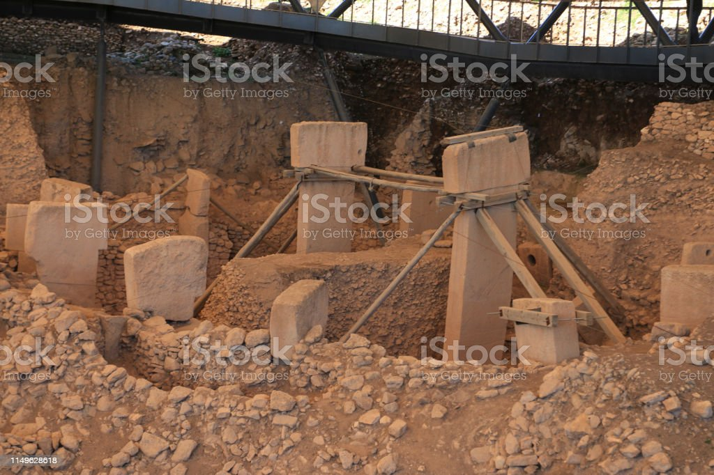 Gobeklitepe archaeological site Sanliurfa/Turkey.