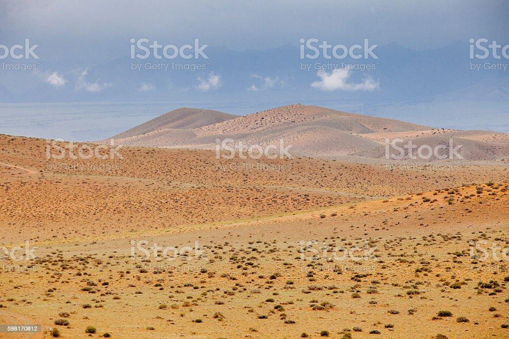 Gobi Desert Landscape Mongolia – Foto