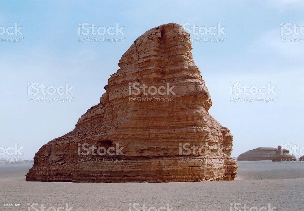 gobi landform royalty-free stock photo