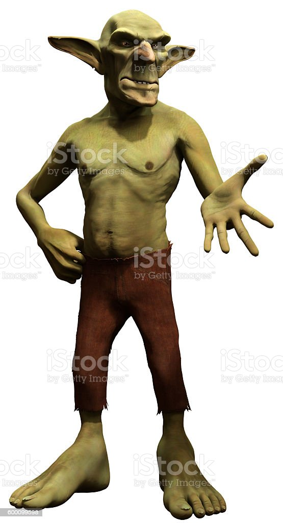 Goblin stock photo