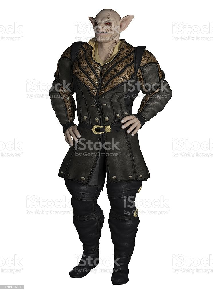 Goblin Prince stock photo