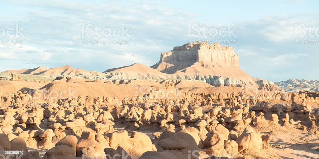 Goblin Valley State Park, Utah, USA stock photo