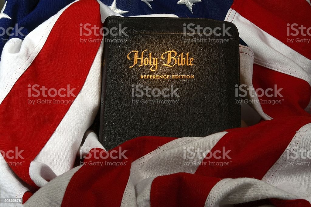 God and country royalty-free stock photo