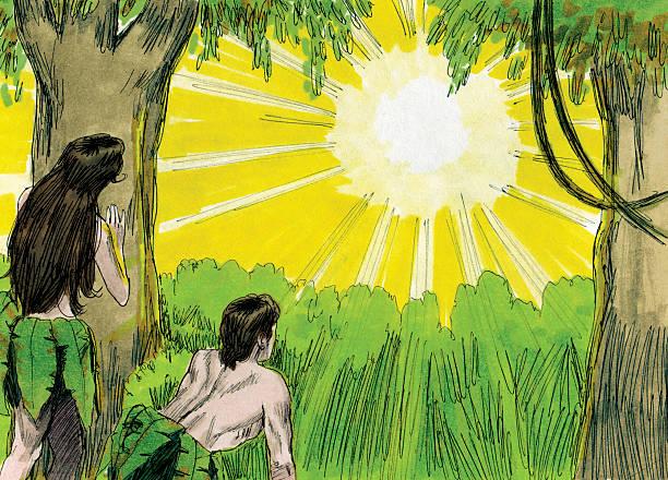 Gott Anrufe an Adam and Eve – Foto