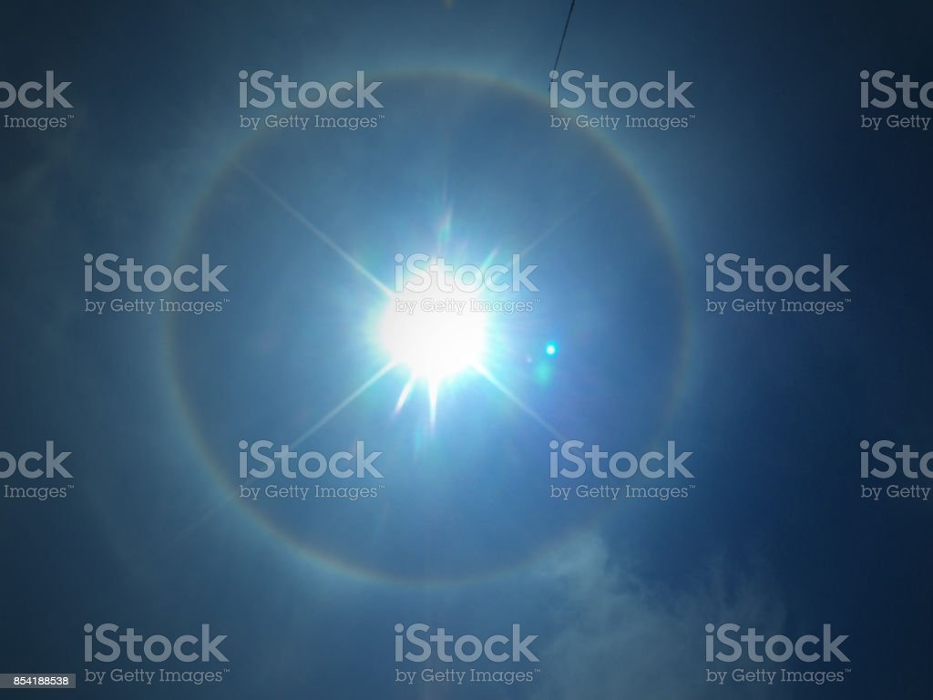 God eye stock photo