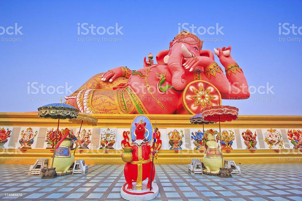 God Ganesh royalty-free stock photo