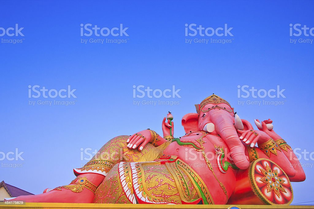 God Ganesh stock photo