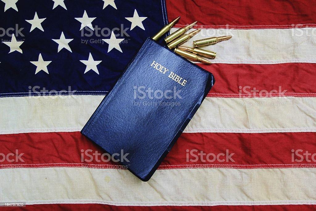 God Guts and Glory royalty-free stock photo