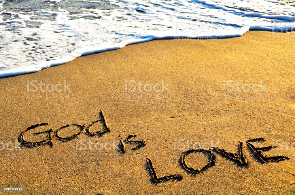 Deus é amor - foto de acervo