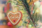 istock God Jul - Danish Christmas tree toy 521849035