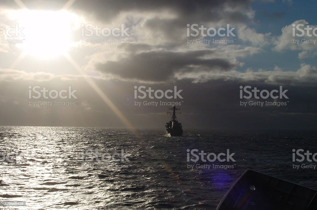 God moves over water 1 royalty-free stock photo