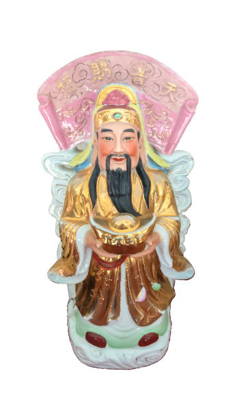 God of Fortune (Fu,Hok), Prosperity (Lu,Lok), and Longevity (Shou,Siu) stock photo