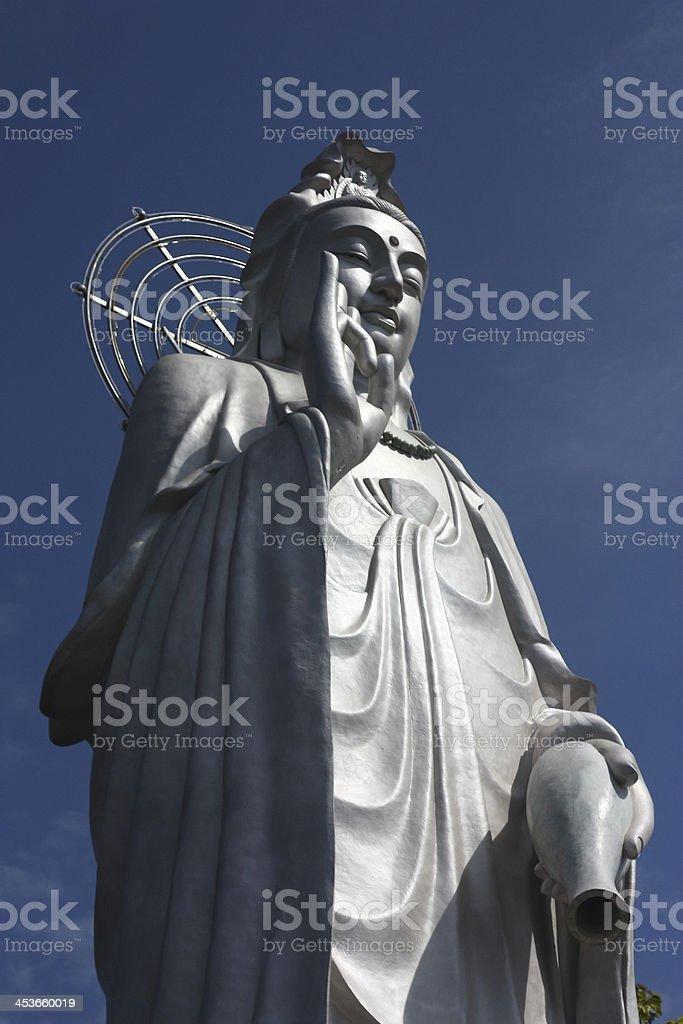 God of mercy - Kannon statue royalty-free stock photo
