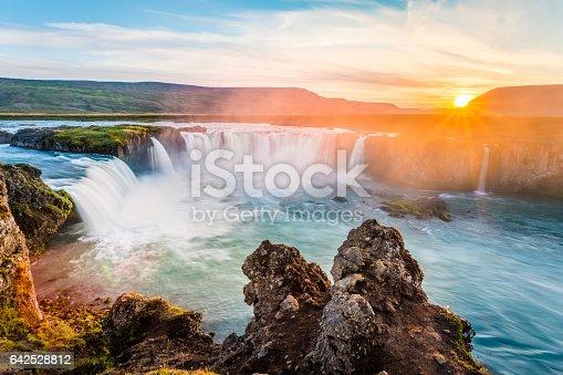 istock Godafoss, waterfall. Iceland, Europe 642528812