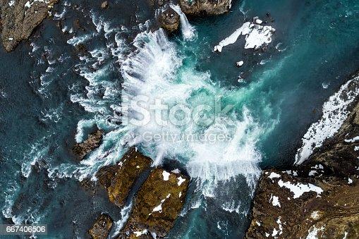 istock Godafoss waterfall, Iceland 667406506