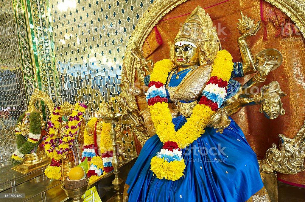 Goddess Durga stock photo