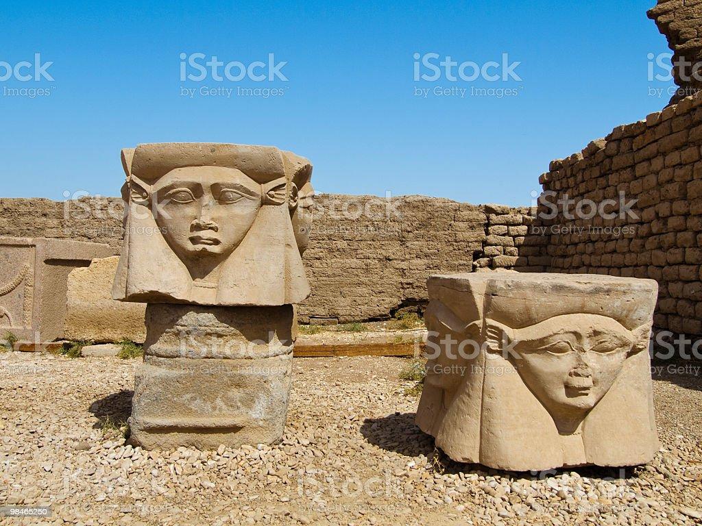 Goddess Hathor royalty-free stock photo