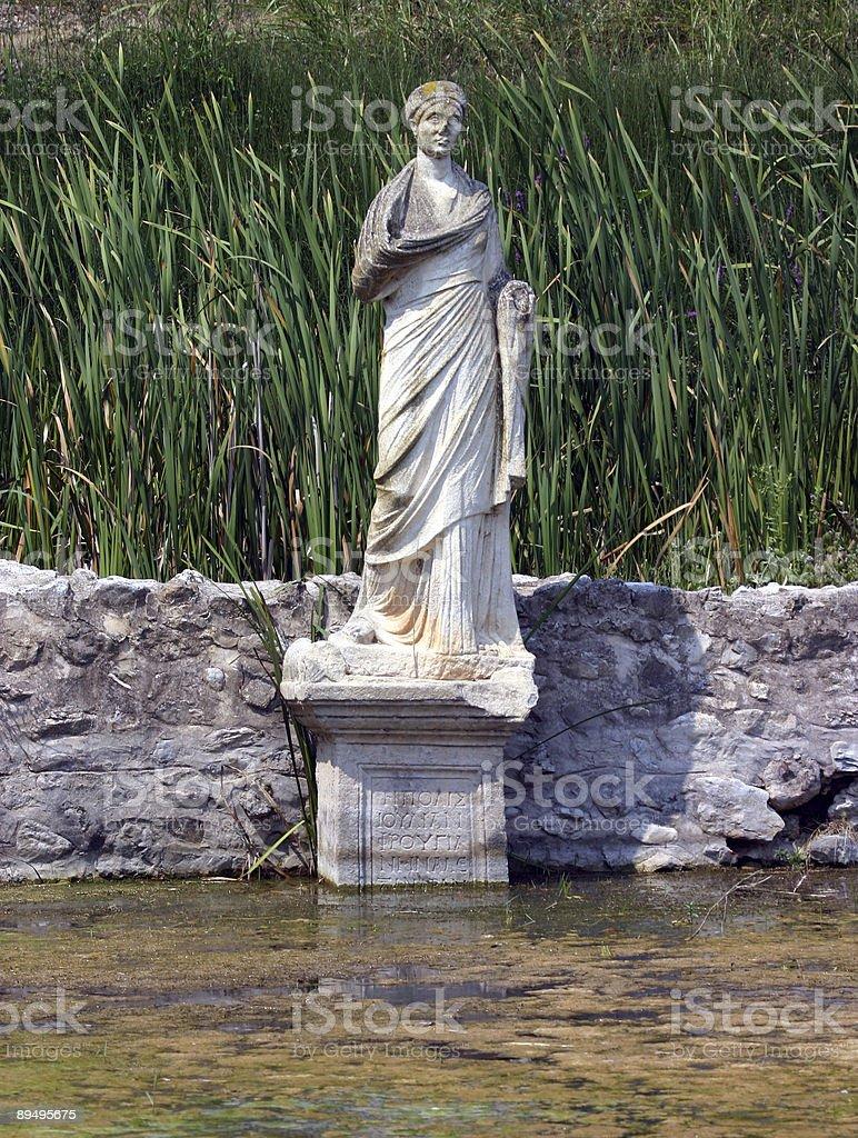 Goddess Sinking royalty-free stock photo