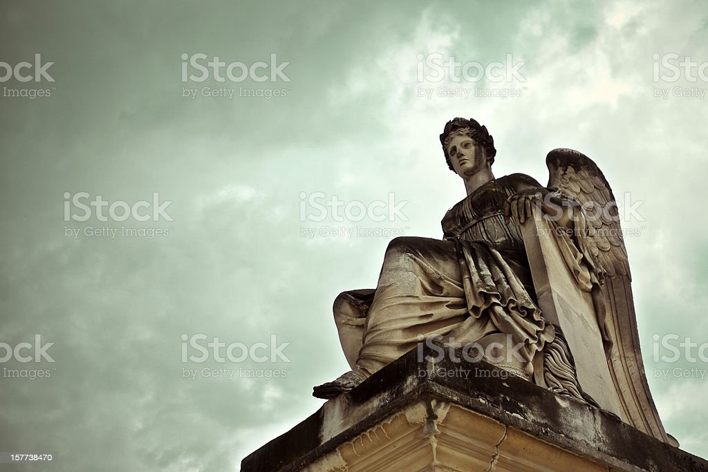 Goddess Statue stock photo
