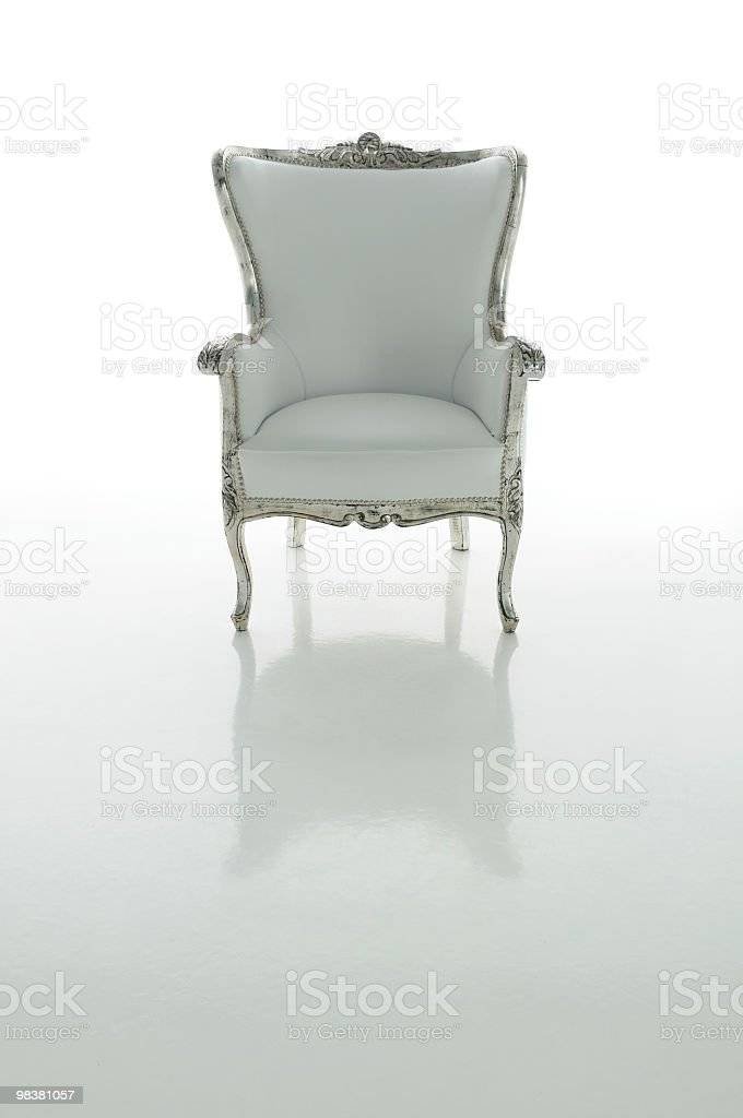 하나님 왜고너의 의자 천국을 royalty-free 스톡 사진