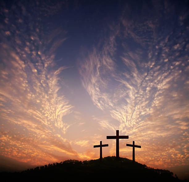 god's love to people - cross stock photos and pictures