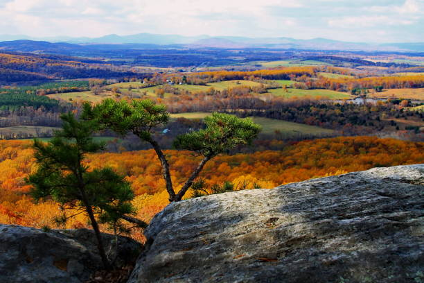 god's palette - loudon stock photos and pictures