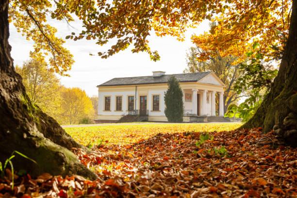 Goethe-Park mit Römisches Haus im Herbst – Foto