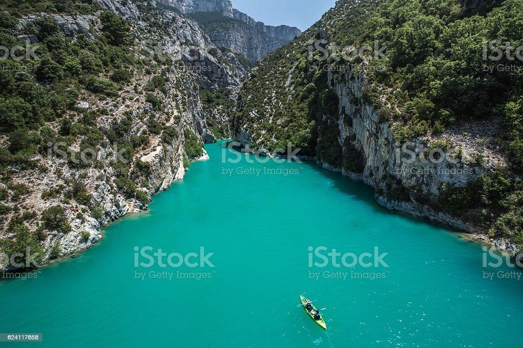 Goges du verdon (canyon of Verdon), France stock photo