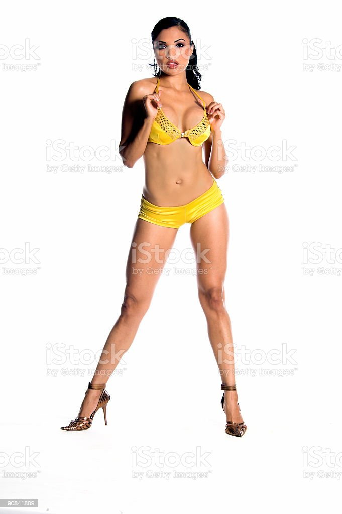 Go-Go Yellow royalty-free stock photo