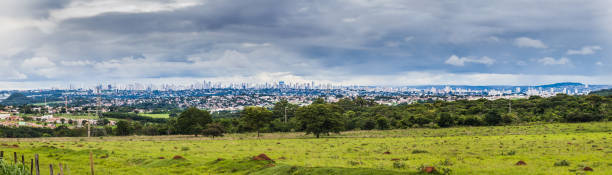 Goiania City Millions of people are living in this Brazilian city located in the center of the country goiás city stock pictures, royalty-free photos & images