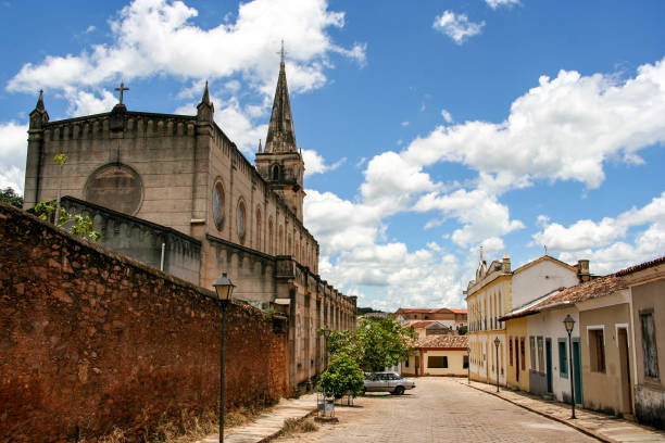 Goias is a municipality in the state of Goias in Brazil and a UNESCO World Heritage Site. Goias is a municipality in the state of Goias in Brazil and a UNESCO World Heritage Site. goiás city stock pictures, royalty-free photos & images